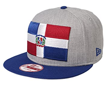 New Era Dominican Republic Heather Grand Logo 9FIFTY Snapback Cap One Size aaa4ed1a6067