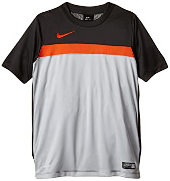 great fit d20ea 62bea NIKE Academy Boy s Training Shirt 1 B grey Anthracite Team Orange Size XS