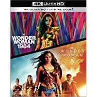 Wonder Woman 1984/Wonder Woman (Amazon/2 Film Bundle 4KUHD + Digital) [Blu-ray]