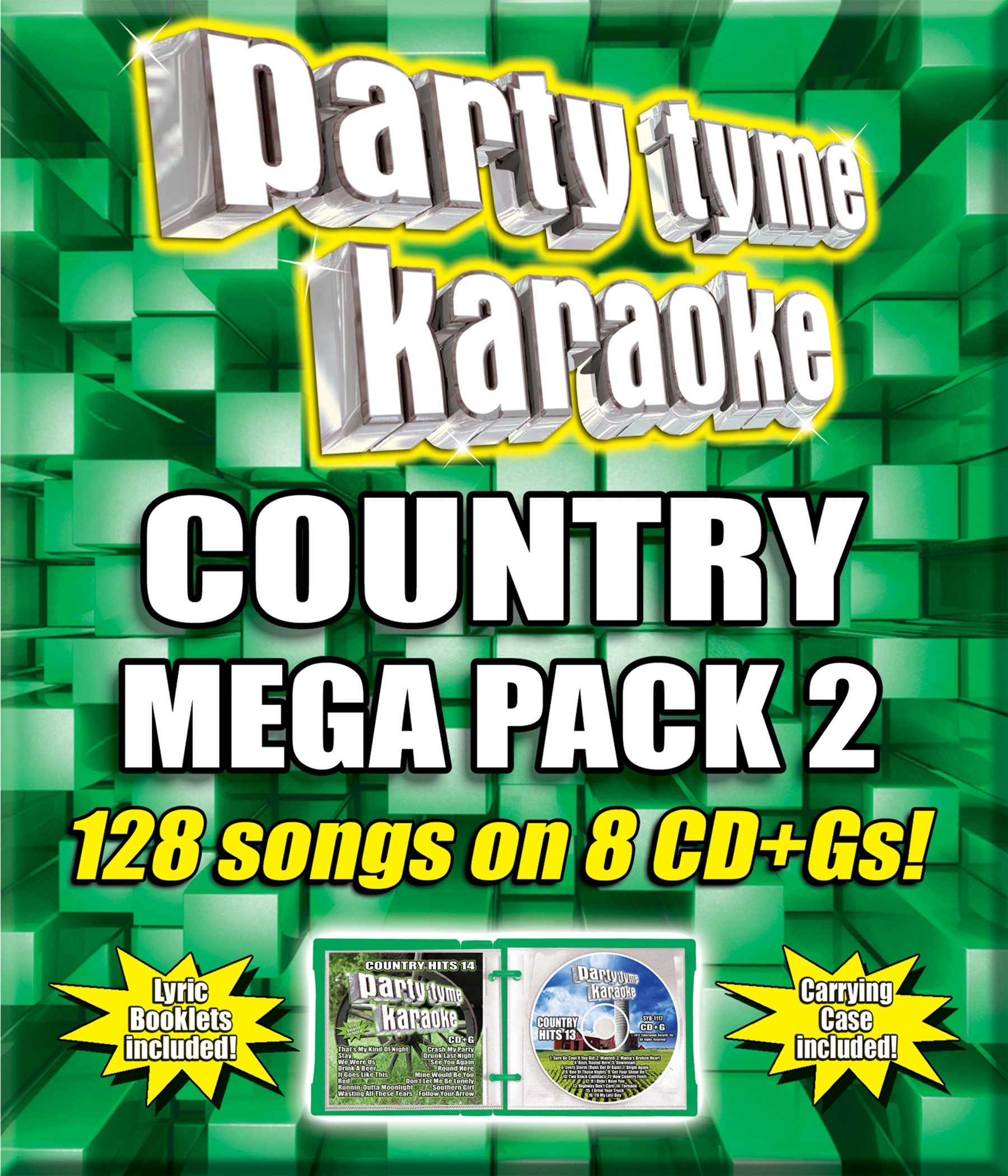 Party Tyme Karaoke - Country Mega Pack 2 [8 CD + G]