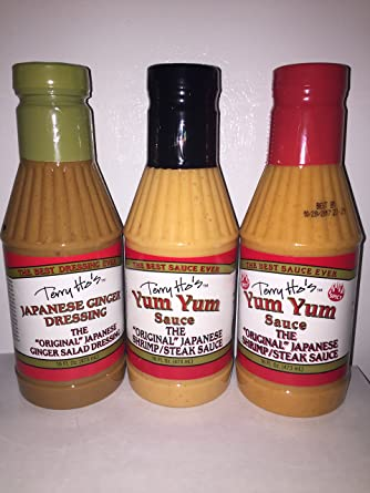 Terry Ho S Japones Variety Pack Japones Ginger Vestidor Yum Yum Original Salsa Y Yum Yum Salsa Picante Amazon Com Grocery Gourmet Food