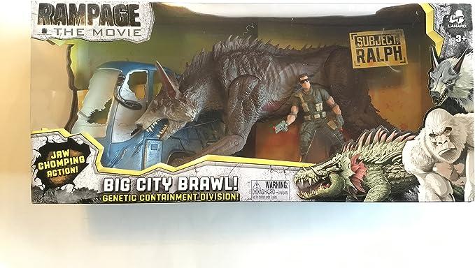 Rampage New The Movie Big City Brawl Ralph Set: Amazon.es: Juguetes y juegos