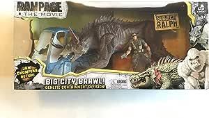 Amazon Com Lanard Rampage The Movie Big City Brawl Ralph