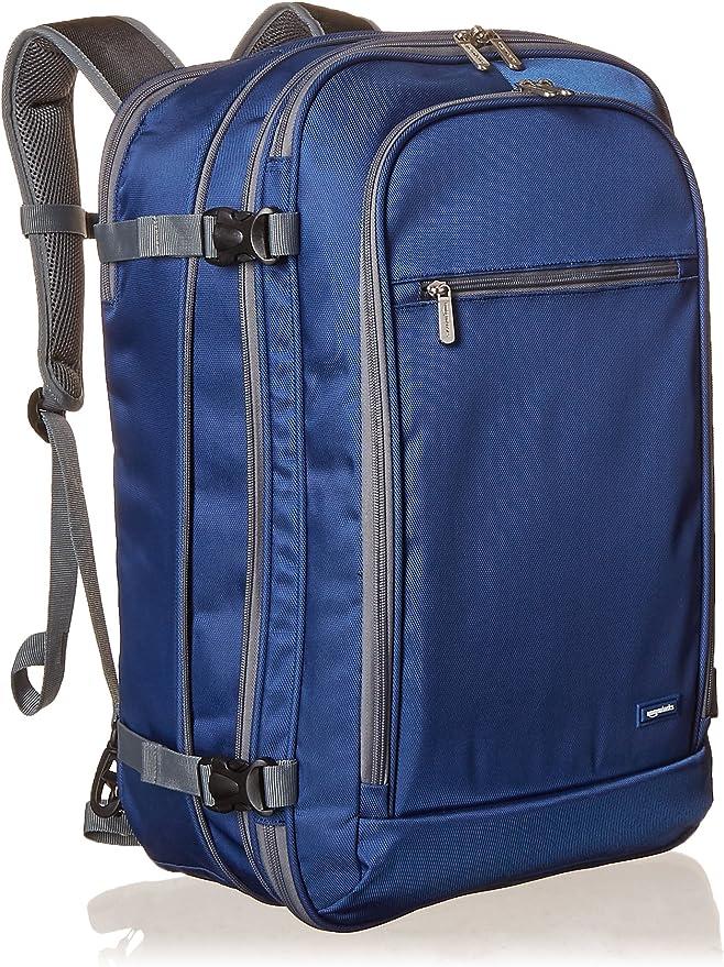 Amazon Basics Handgepäck Reiserucksack Mit Tragegriff Und Schultergurt 25 10l 1 7kg Eigengewicht Marineblau Koffer Rucksäcke Taschen