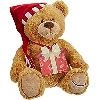 $100 Amazon.com Gift Card with GUND Holiday 2017 Teddy Bear