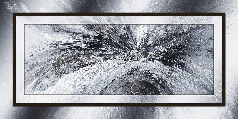 Artland Qualitätsbilder I Alu Dibond Bilder Bilder Bilder Alu Art 120 x 60 cm Abstrakte Motive Muster Formen Digitale Kunst Schwarz Weiß C6PF Schwarz weiß abstrakt 1 508ae0