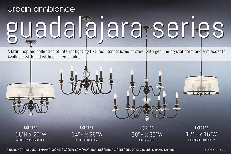 Amazon.com: Urban Ambiance - Lámpara de araña de lujo ...