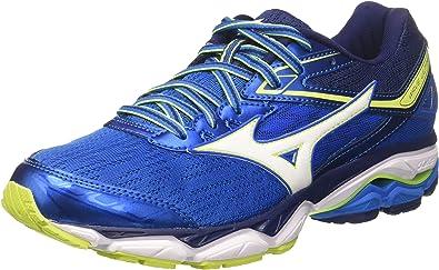 Mizuno Wave Ultima, Zapatillas de Running para Hombre, Azul Blanco, 46.5 EU: Amazon.es: Zapatos y complementos