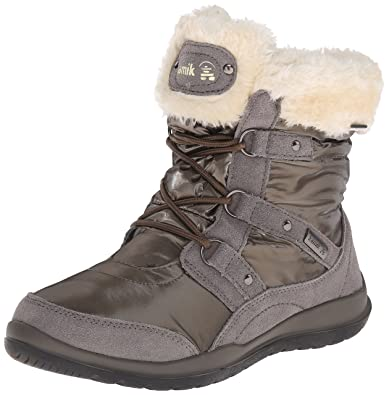 Kamik Women's Sofia Insulated Winter Boot, Brown, ...