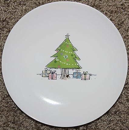 Amazon Com Rae Dunn Artisan Collection Oh Christmas Tree Dessert