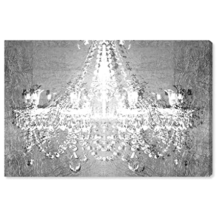 The Oliver Gal Artist Co Fashion And Glam Wall Art Canvas Prints Dramatic Entrance Chrome Home Decor 15 X 10 Gray White