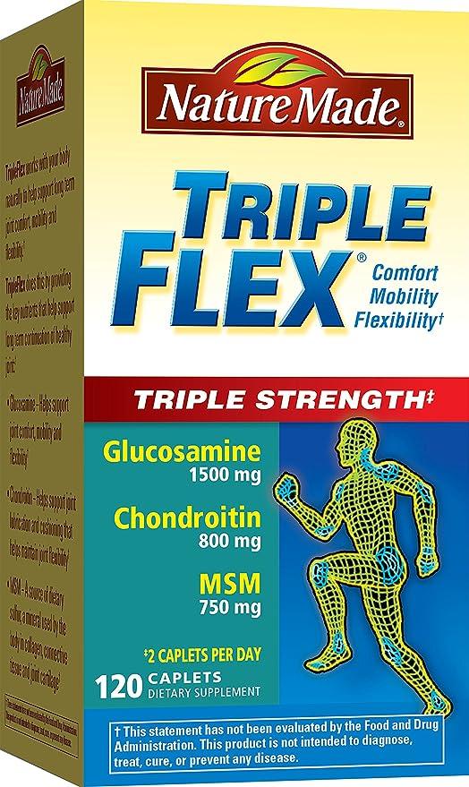 Triple Flex, Triple Fuerza, 120 tabletas - Nature Made