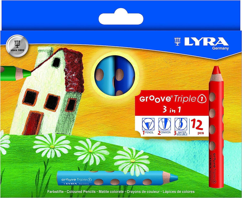 Hb Erstklassige mit Name Field – Lyra Groove Dünn Stifte Dreieckig Verpackt
