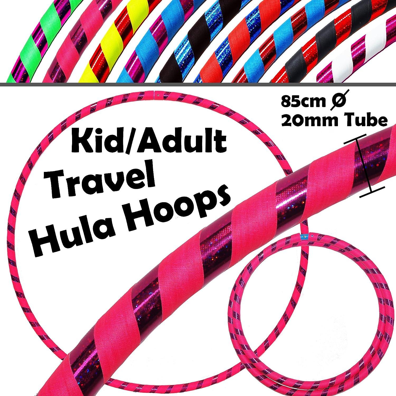 More Mile Weighted 1.5kg Hula Hoop Purple