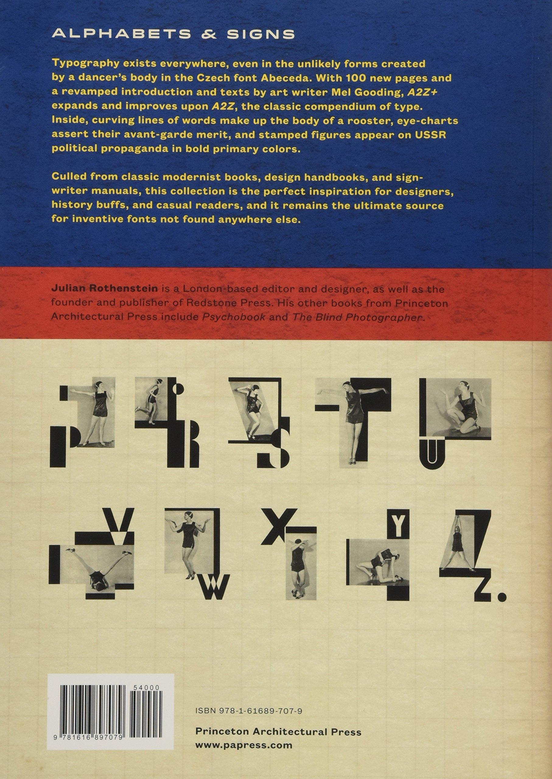 A2z+: Alphabets & Signs: Amazon.co.uk: Mel Gooding, Julian Rothenstein:  9781616897079: Books