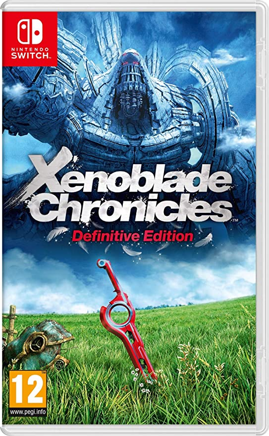 Xenoblade Chronicles: Definitive Edition (Nintendo Switch): Amazon ...