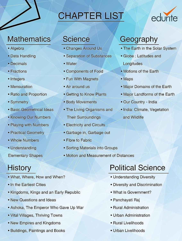 Edurite DVD for CBSE Class 6 Science, Mathematics, Social Science ...