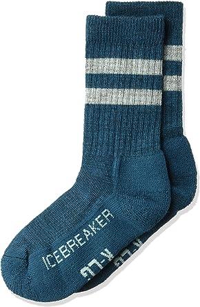 Amazon Com Icebreaker Merino Kid S Hiking Crew Socks Merino Wool Clothing