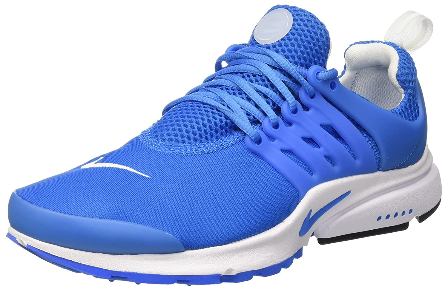 Nike Herren Air Presto Essential Trainer  46 EU|T眉rkis (Photo Blue/Photo Blue/White/Black)