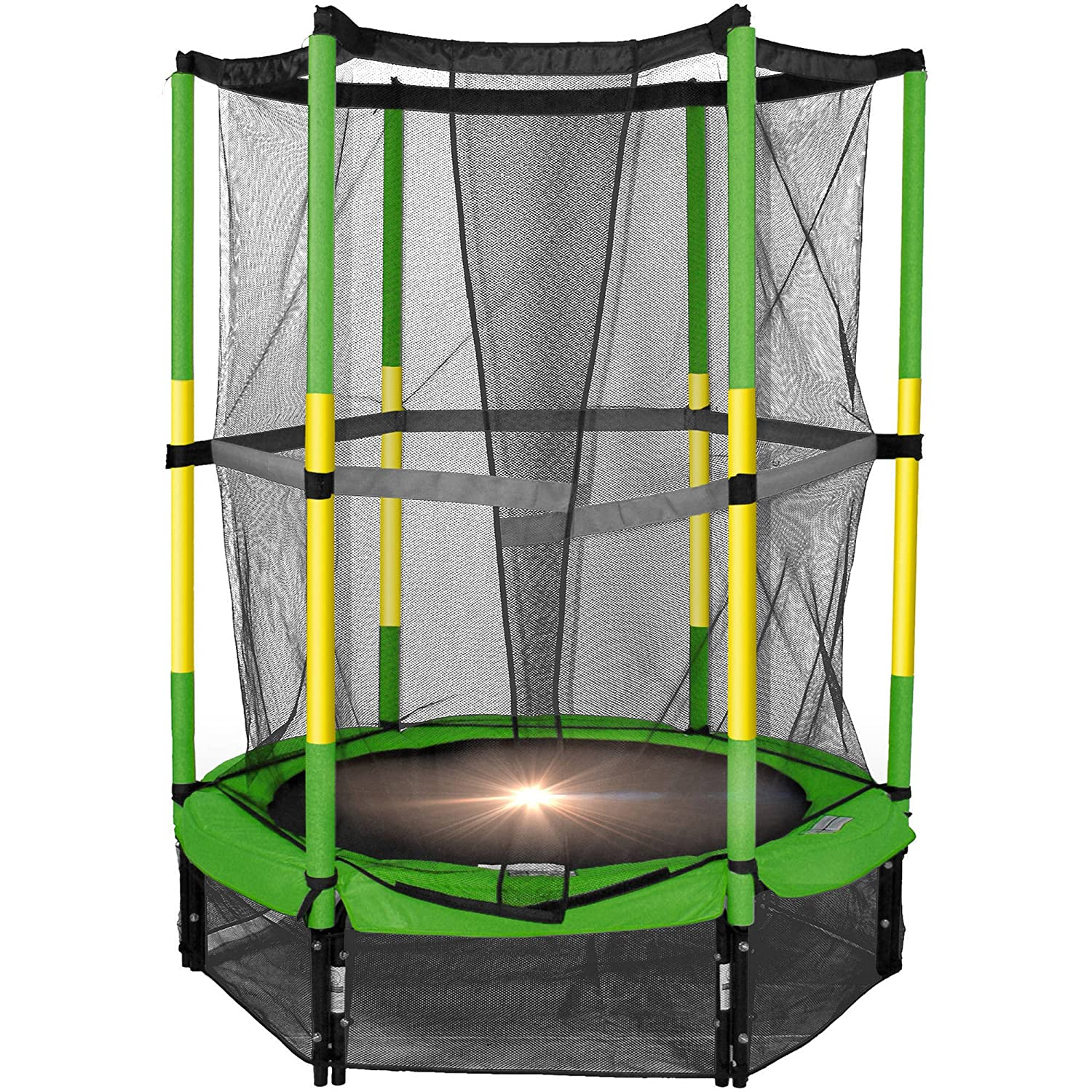 amazon com the bounce pro 55 my first trampoline sports u0026 outdoors