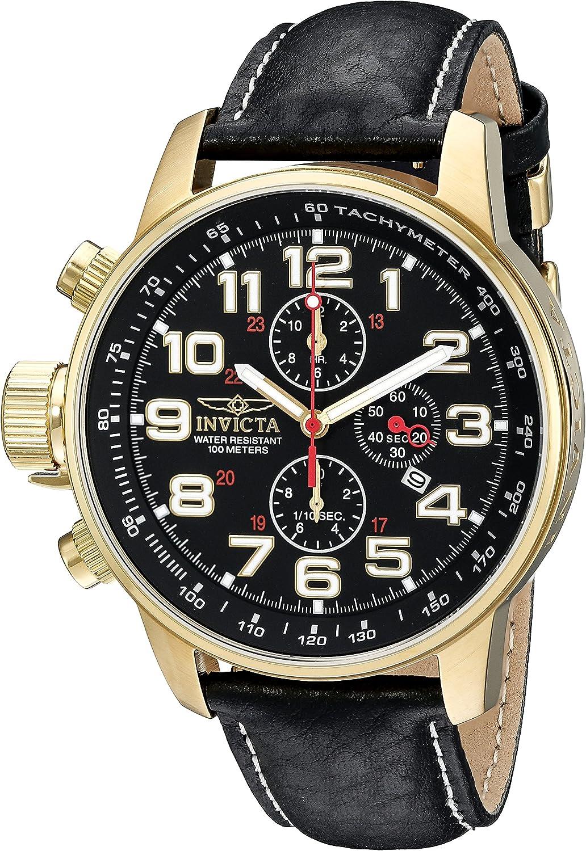 Invicta Men s 3330SYB I-Force Analog Display Quartz Black Watch