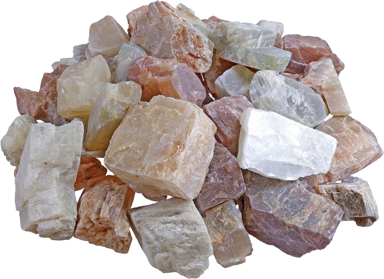 Piedras de agua de luna, 100% naturales, 300 g