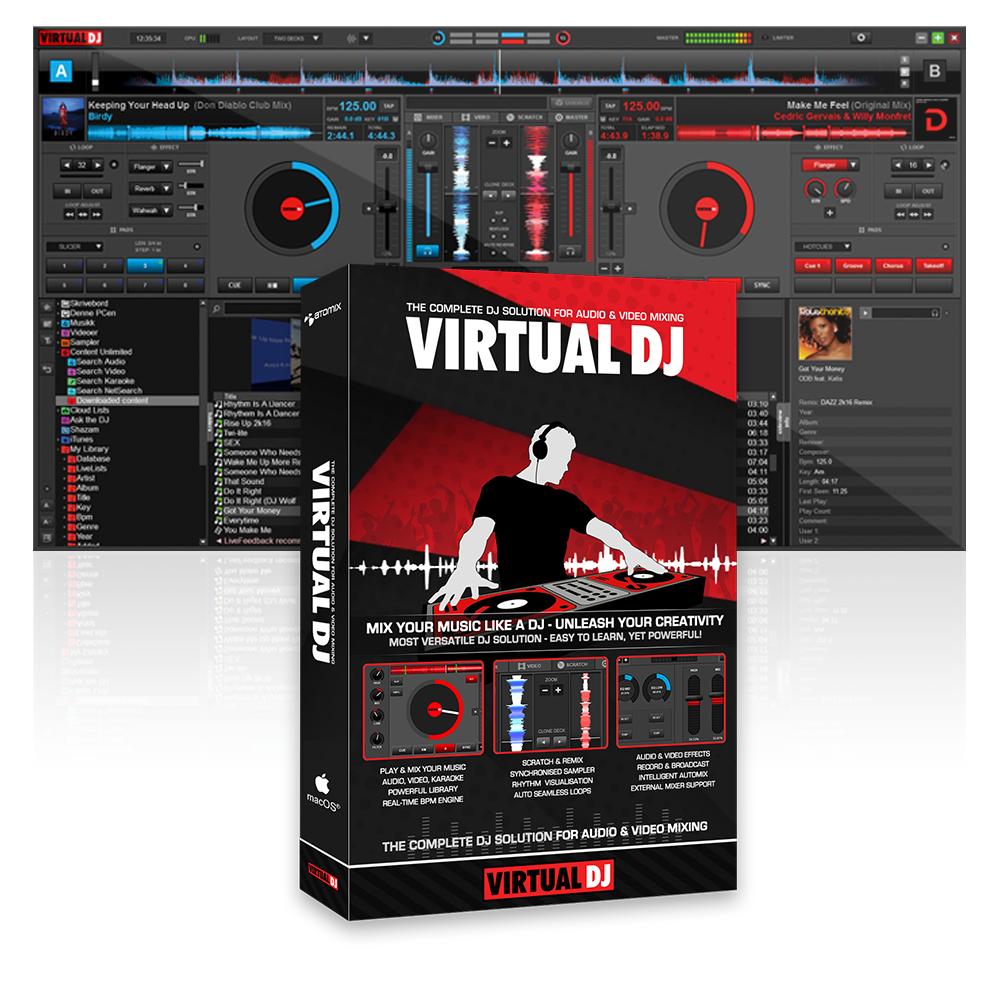 Disc Jockey Equipment - VirtualDJ [Download]