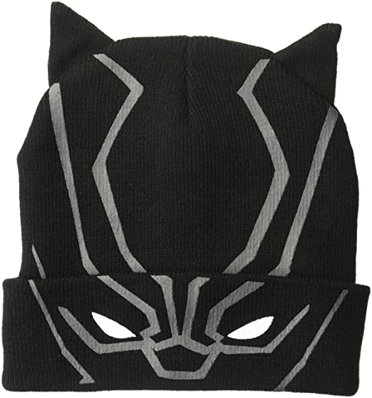 614fa8ab Marvel Black Panther Winter Beanie at Amazon Men's Clothing store: