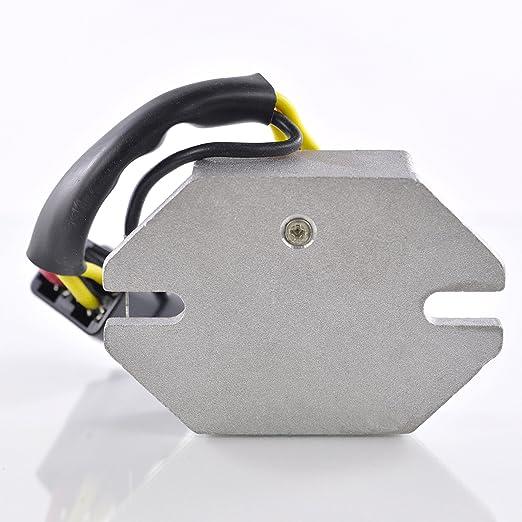 Voltage Regulator Fits Ski-Doo Skandic OEM Repl.# 410911300//410918400 // 420866080//515163900 // 515175546 Touring Tundra Formula Safari Alpine II 250 377 380 440 447 467 500 1987-2002