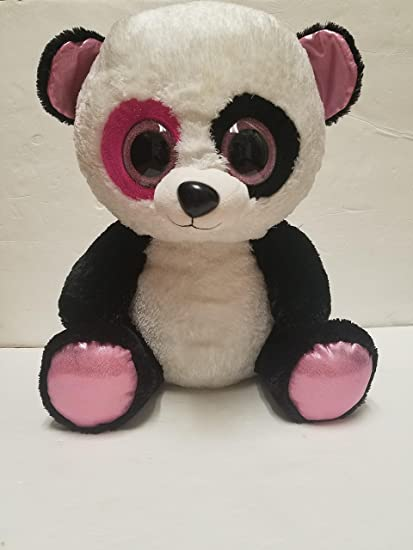 1bb03b4a156 Amazon.com  Ty Beanie Boos Penny - Panda Large (Justice Exclusive)  Toys    Games