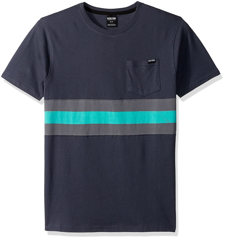 Zoo York Herren Hydrogen Short Sleeve Crew Skate-T-Shirt