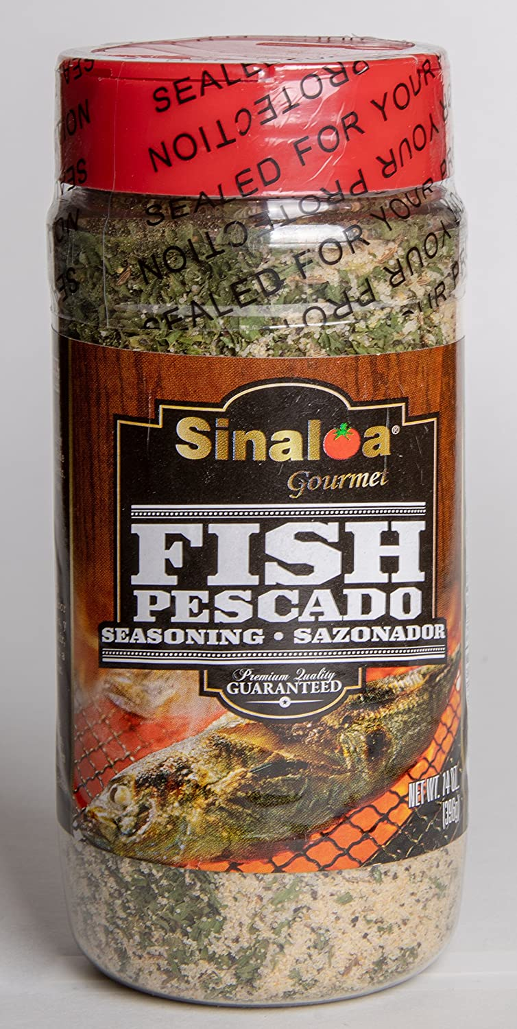 Amazon.com : Salsa Sinaloa Fish Seasoning (Sazonador de Pescado) Premium Quality Guaranteed : Grocery & Gourmet Food