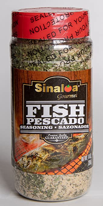 Salsa Sinaloa Fish Seasoning (Sazonador de Pescado) Premium Quality Guaranteed