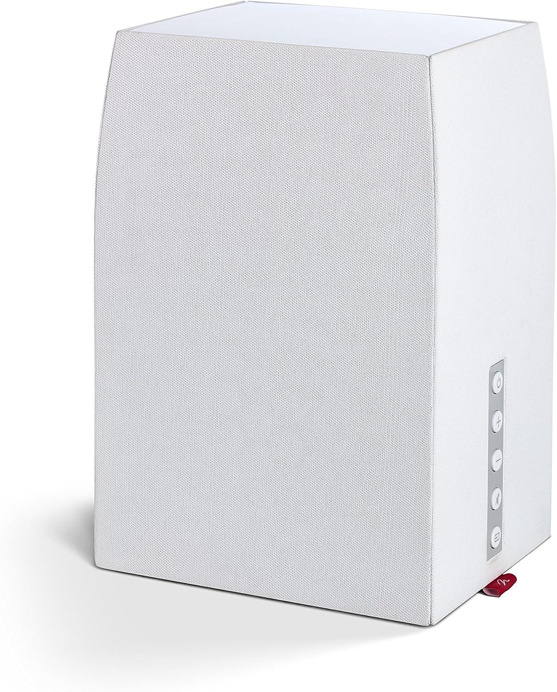MartinLogan Wireless Bookshelf Multi Room Digital Music System White (Bravado)