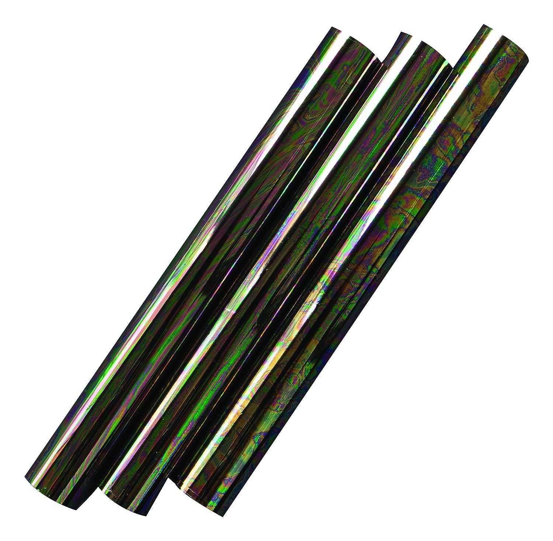 Rainbow Puddle Prima Marketing Rub-On Foil Sheets