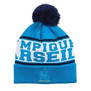 0291b0c11c6 Olympique de Marseille OM - Bobble Hat Boys  Amazon.co.uk  Sports   Outdoors