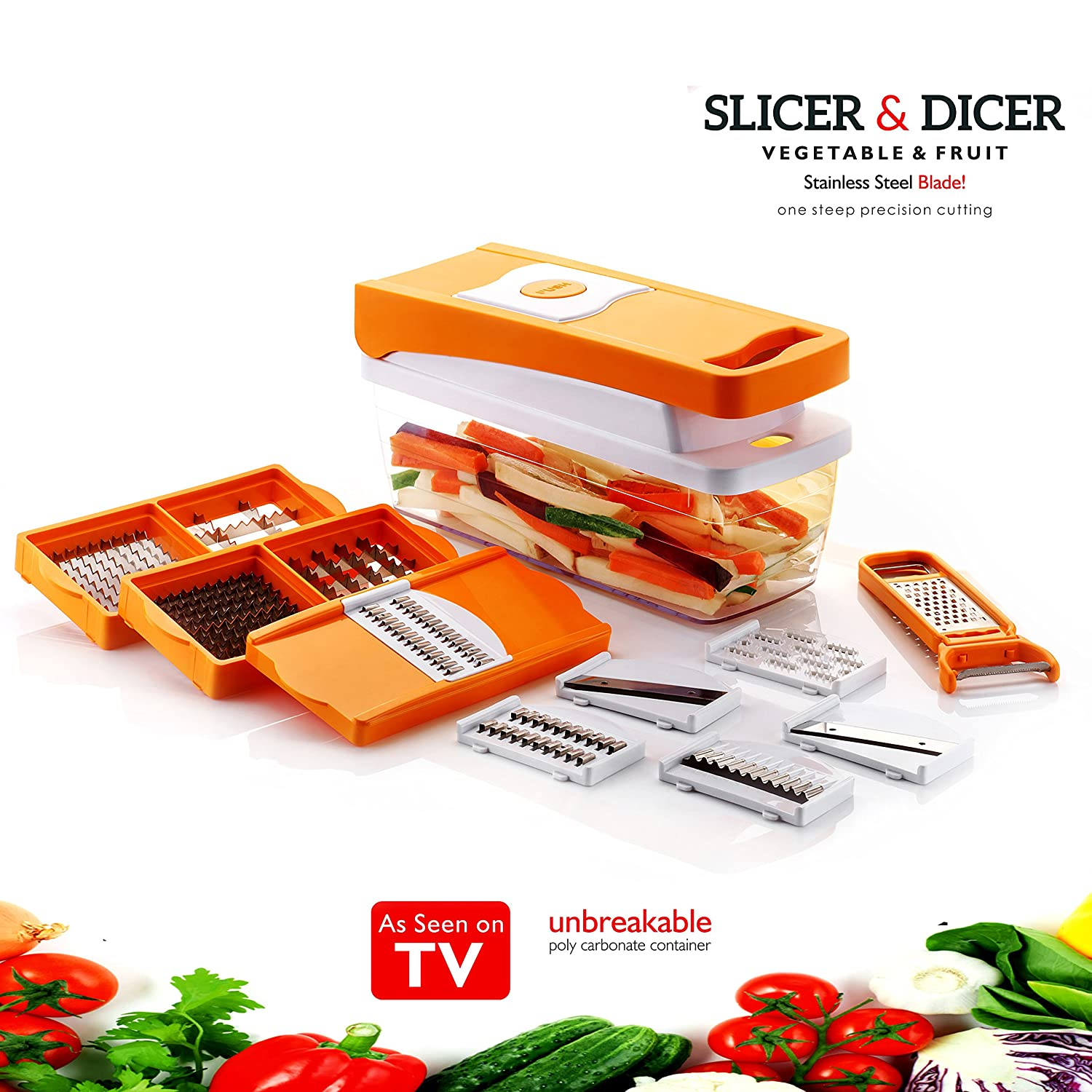Queen Chef 13 In 1 Premium Nicer Fruit & Vegetable Cutter