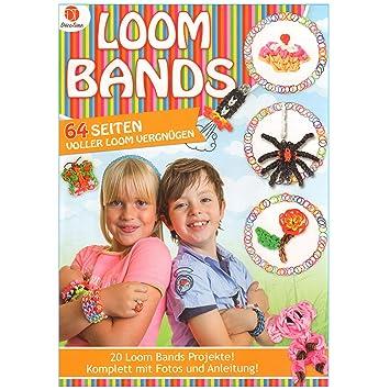 Loom Bands Buch 64x Seiten Komplett Mit Fotos Und Anleitung