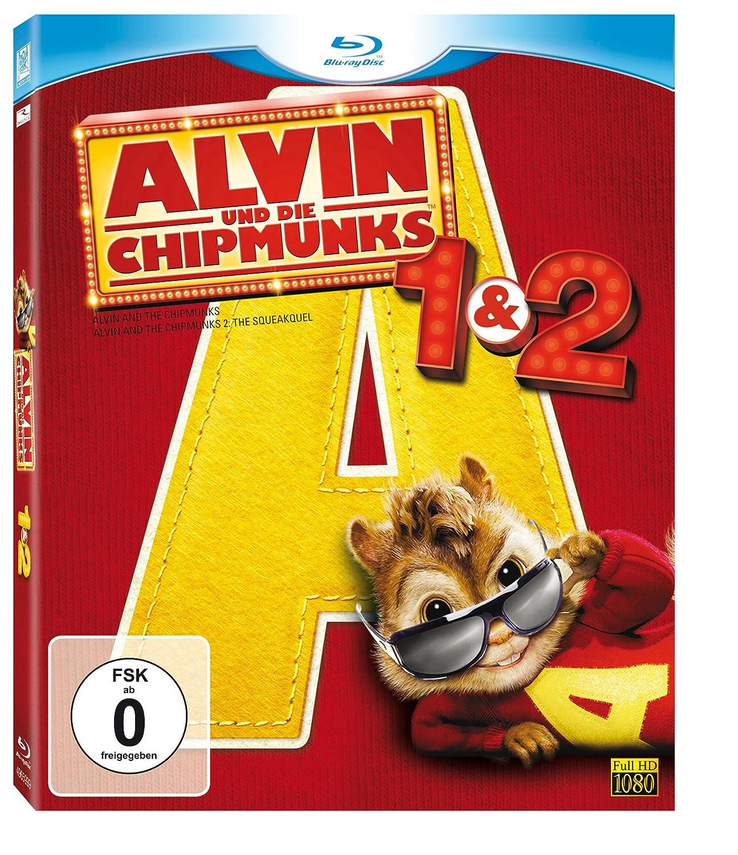 Alvin und die Chipmunks  Teil 12 Bluray Amazonde David
