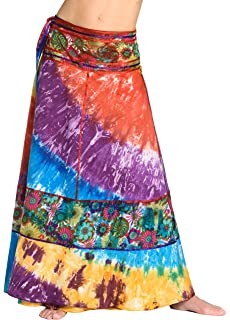f673d79123 exportaciones Hechas a Mano Indio 100% Algodón Mujeres Falda Larga ...