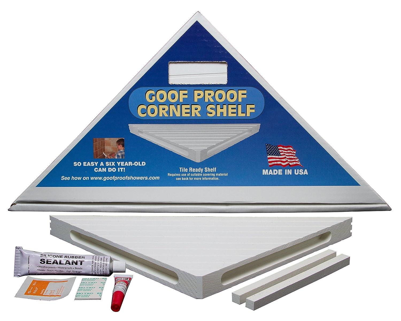 Amazon.com: GOOF PROOF SHOWER GPCS-1500 Retro Corner Shelf: Home ...