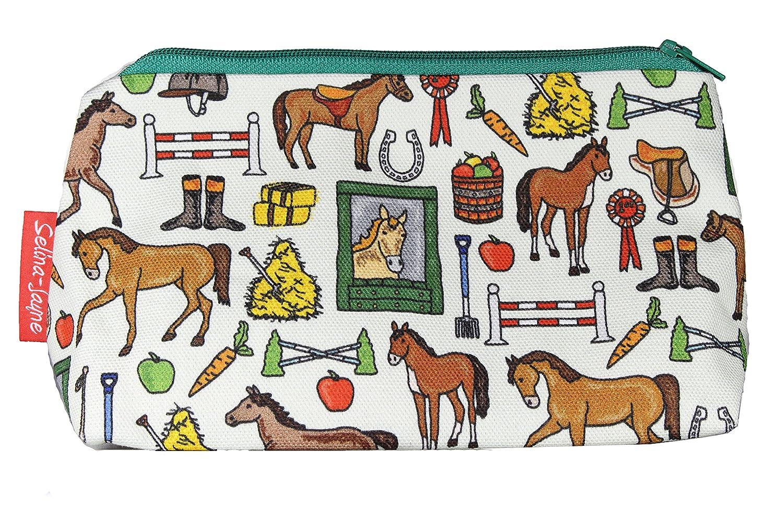 selina-jayne Horses Limited Edition Designer Toiletry Bag   B01FRG7F04