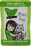 WERUVA 784223 12-Pack Best Feline Friend Tuna/Lamb Luv Yas,, 3-Ounce Pouches