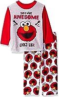 Sesame Street Boys' Elmo 2-Piece Pajama Set
