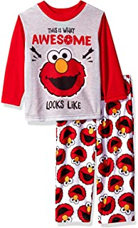 Amazon com: Sesame Street Baby Boys Elmo Cotton Non-Footed