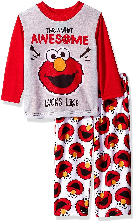 Sesame Street boys Toddler Boys Elmo 2-piece Pajama Set 21SS204ELLZA-P6
