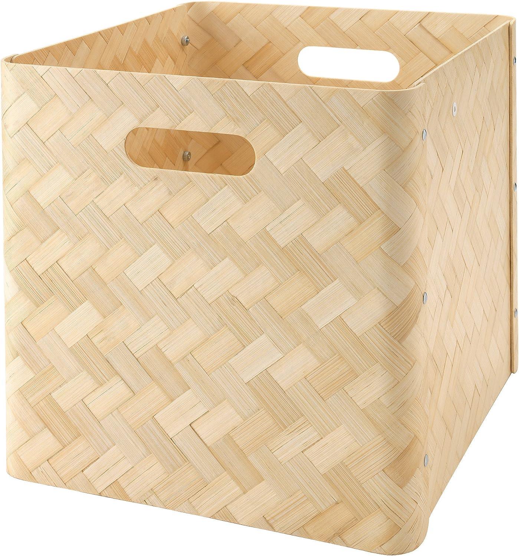 IKEA bullig - Caja de bambú: Amazon.es: Hogar