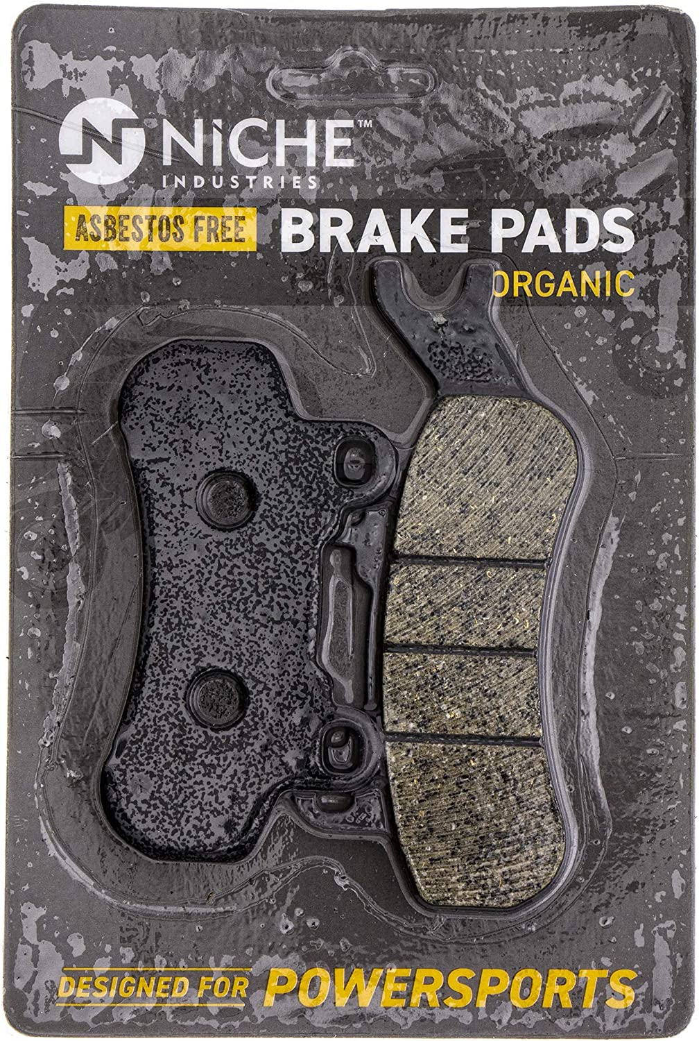 NICHE Brake Pad Kit For Can-Am Maverick X3 Max R Sport 1000R Defender 715900379 715900380 Front Organic