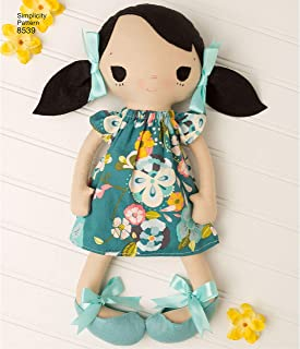 product image for Simplicity Whimsy Doll Clothes Sewing Patterns, One Size Only