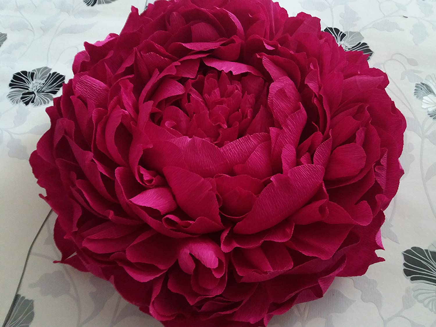 Giant Crepe Paper Peony Large Crepe Paper Flowers Home Decor Wall